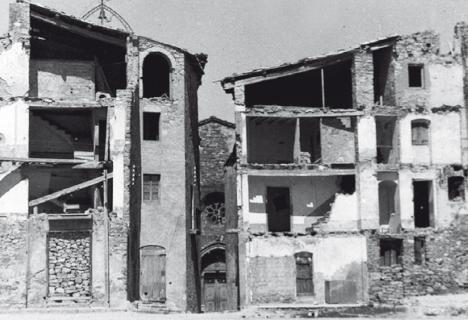 Isona: La reconstrucció d'un poble entre dos fronts