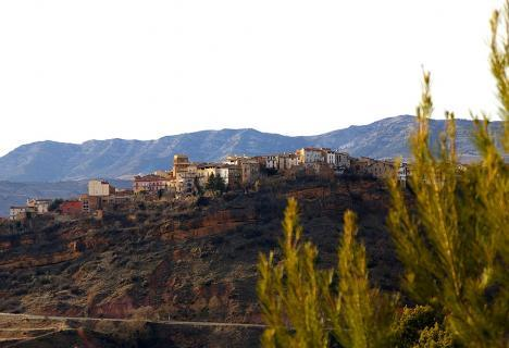 Walled village of Talarn